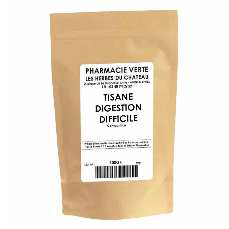 DIGESTION DIFFICILE - 100GR - PHARMACIE VERTE - Herboristerie à Nantes depuis 1942 - Plantes en Vrac - Tisane - EPS - Homéopathi