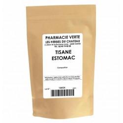 ESTOMAC - 120GR - PHARMACIE VERTE - Herboristerie à Nantes depuis 1942 - Plantes en Vrac - Tisane - EPS - Bourgeon - Mycothérapi