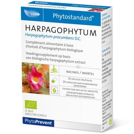 PhytoStandard HARPAGOPHYTUM - 20 gélules - PHARMACIE VERTE - Herboristerie à Nantes depuis 1942 - Plantes en Vrac - Tisane - EPS