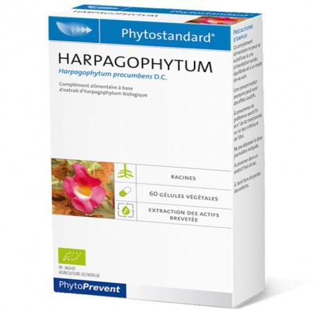 PhytoStandard HARPAGOPHYTUM - 60 gélules - PHARMACIE VERTE - Herboristerie à Nantes depuis 1942 - Plantes en Vrac - Tisane - EPS