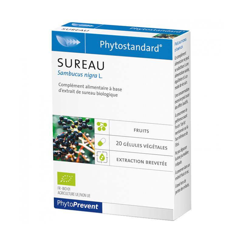 PhytoStandard SUREAU - 20 gélules - PHARMACIE VERTE - Herboristerie à Nantes depuis 1942 - Plantes en Vrac - Tisane - EPS - Homé