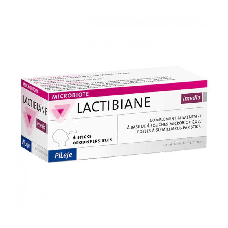 LACTIBIANE Imedia - 4 sticks - PHARMACIE VERTE - Herboristerie à Nantes depuis 1942 - Plantes en Vrac - Tisane - EPS - Homéopath