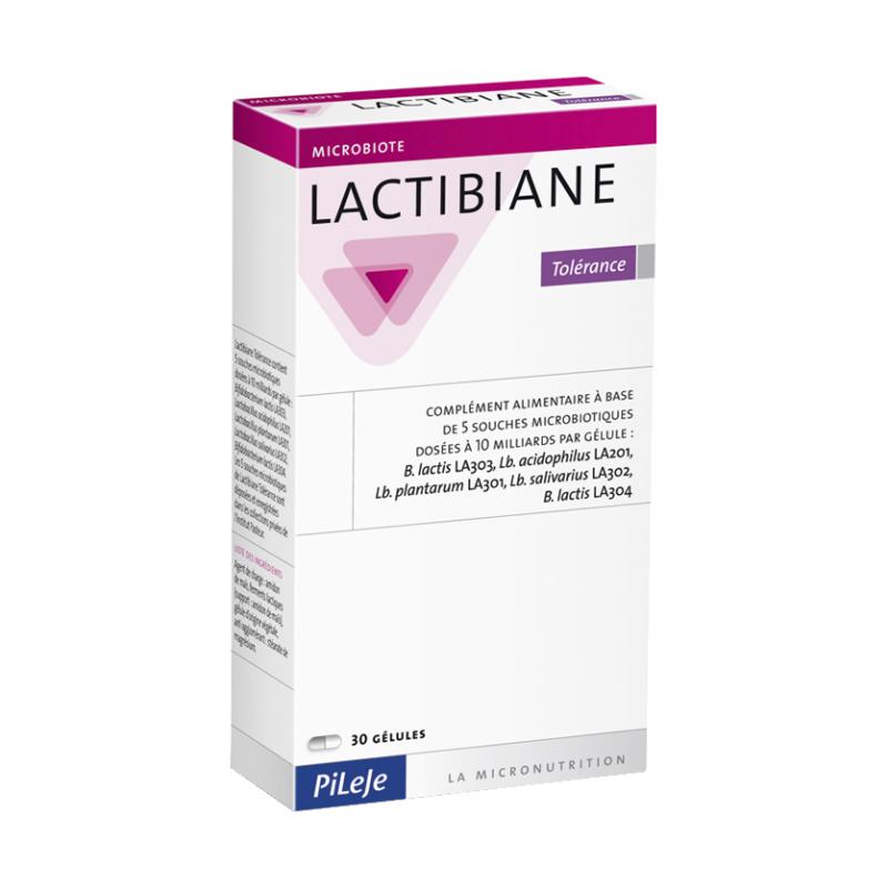 LACTIBIANE Tolérance - 30 gélules - PHARMACIE VERTE - Herboristerie à Nantes depuis 1942 - Plantes en Vrac - Tisane - EPS - Bour