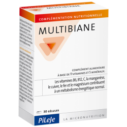 MULTIBIANE Age Protect - 30 gélules - PHARMACIE VERTE - Herboristerie à Nantes depuis 1942 - Plantes en Vrac - Tisane - EPS - Bo