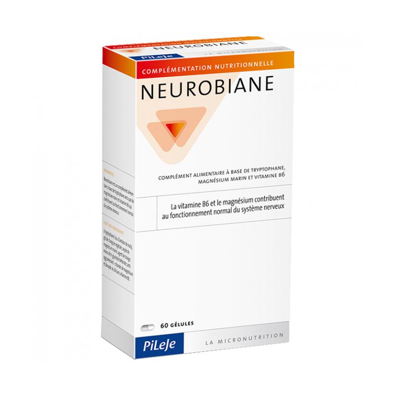 NEUROBIANE - 60 gélules - PHARMACIE VERTE - Herboristerie à Nantes depuis 1942 - Plantes en Vrac - Tisane - EPS - Homéopathie -