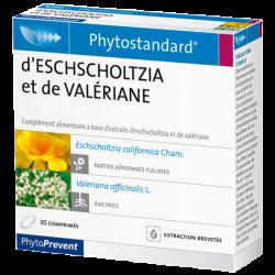 PhytoStandard ESCHSCHOLTZIA & VALÉRIANE - 30 comprimés - PHARMACIE VERTE - Herboristerie à Nantes depuis 1942 - Plantes en Vrac