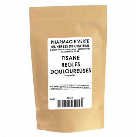 REGLES DOULOUREUSES - 110GR - PHARMACIE VERTE - Herboristerie à Nantes depuis 1942 - Plantes en Vrac - Tisane - EPS - Bourgeon -