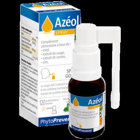 AZEOL Spray - 15ml - PHARMACIE VERTE - Herboristerie à Nantes depuis 1942 - Plantes en Vrac - Tisane - EPS - Homéopathie - Gemmo