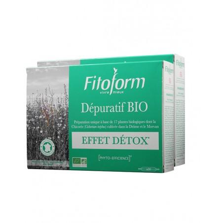 DÉPURATIF Bio - 2x20 ampoules - PHARMACIE VERTE - Herboristerie à Nantes depuis 1942 - Plantes en Vrac - Tisane - EPS - Homéopat