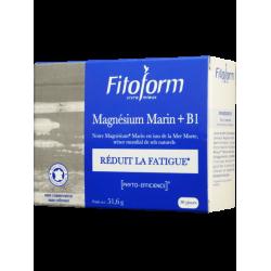MAGNÉSIUM MARIN + B1 - 60 comprimés - PHARMACIE VERTE - Herboristerie à Nantes depuis 1942 - Plantes en Vrac - Tisane - EPS - Ho
