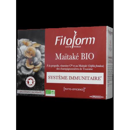 MAÏTAKÉ Bio - 20 ampoules - PHARMACIE VERTE - Herboristerie à Nantes depuis 1942 - Plantes en Vrac - Tisane - EPS - Homéopathie