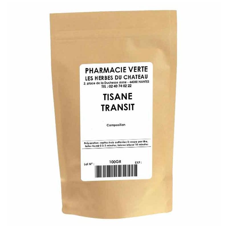 TRANSIT - 100GR - PHARMACIE VERTE - Herboristerie à Nantes depuis 1942 - Plantes en Vrac - Tisane - EPS - Bourgeon - Mycothérapi