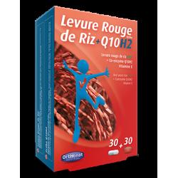 LEVURE DE RIZ ROUGE + Q10H2 - 30 gélules + 30 capsules - PHARMACIE VERTE - Herboristerie à Nantes depuis 1942 - Plantes en Vrac