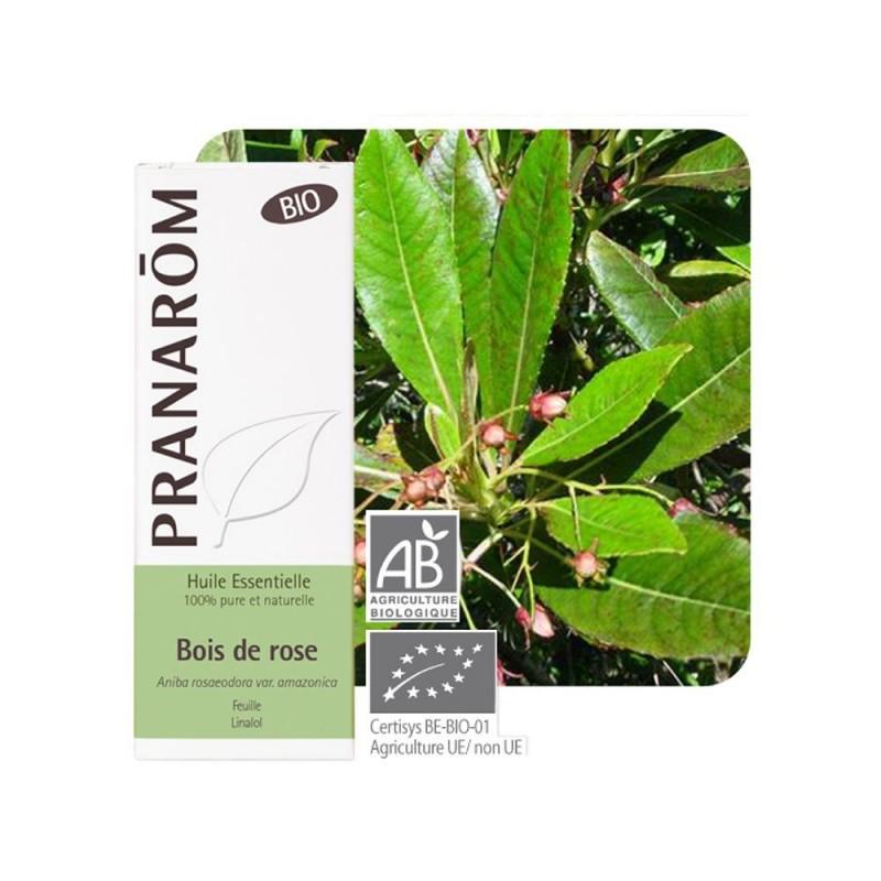 Bois de Rose HE Bio - 10ml - PHARMACIE VERTE - Herboristerie à Nantes depuis 1942 - Plantes en Vrac - Tisane - EPS - Bourgeon -