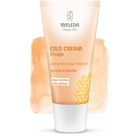 Cold Cream  Soin Intensif Visage - 30ml - PHARMACIE VERTE - Herboristerie à Nantes depuis 1942 - Plantes en Vrac - Tisane - EPS