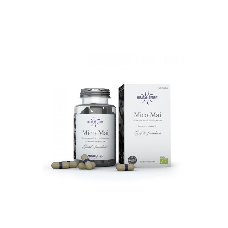 Mico Mai Micosalud - 70 capsules - PHARMACIE VERTE - Herboristerie à Nantes depuis 1942 - Plantes en Vrac - Tisane - EPS - Bourg
