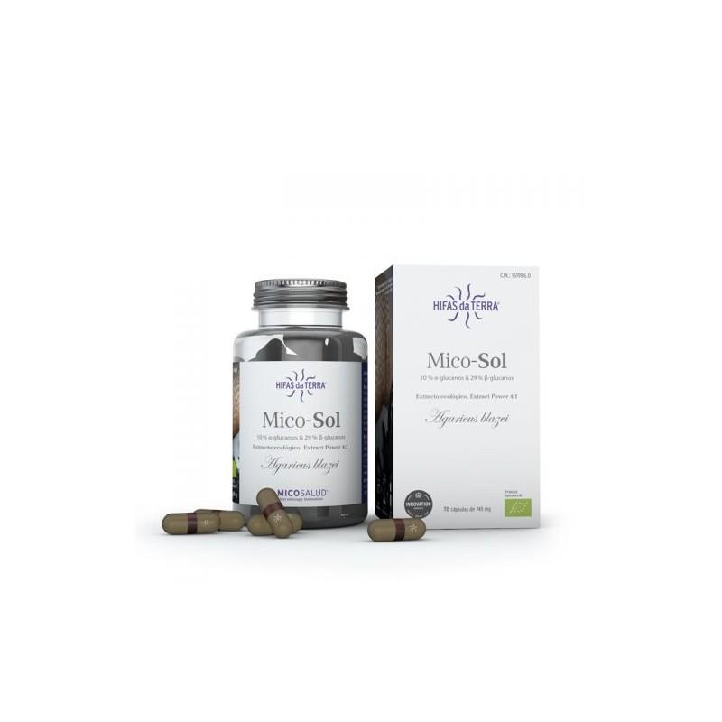 Mico Sol Micosalud - 70 capsules - PHARMACIE VERTE - Herboristerie à Nantes depuis 1942 - Plantes en Vrac - Tisane - EPS - Bourg