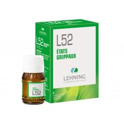 L52 - Etats grippaux - Flacon 30ml - PHARMACIE VERTE - Herboristerie à Nantes depuis 1942 - Plantes en Vrac - Tisane - EPS - Bou