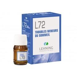 L72 - Troubles mineurs du sommeil - Flacon 30ml - PHARMACIE VERTE - Herboristerie à Nantes depuis 1942 - Plantes en Vrac - Tisan