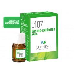 L107 - Gastro Entérites - Flacon 30ml - PHARMACIE VERTE - Herboristerie à Nantes depuis 1942 - Plantes en Vrac - Tisane - EPS -