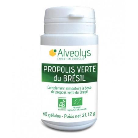 Propolis verte du Brésil Bio - 60 gélules - PHARMACIE VERTE - Herboristerie à Nantes depuis 1942 - Plantes en Vrac - Tisane - EP