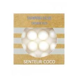 Shampoing Solide - Cheveux Secs - Coco - 55gr - PHARMACIE VERTE - Herboristerie à Nantes depuis 1942 - Plantes en Vrac - Tisane