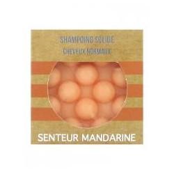 Shampoing Solide - Cheveux Normaux - Mandarine - 55gr - PHARMACIE VERTE - Herboristerie à Nantes depuis 1942 - Plantes en Vrac -