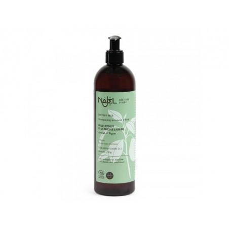 Shampooing au savon d'Alep 2 en 1 cheveux secs - 500ml - PHARMACIE VERTE - Herboristerie à Nantes depuis 1942 - Plantes en Vrac
