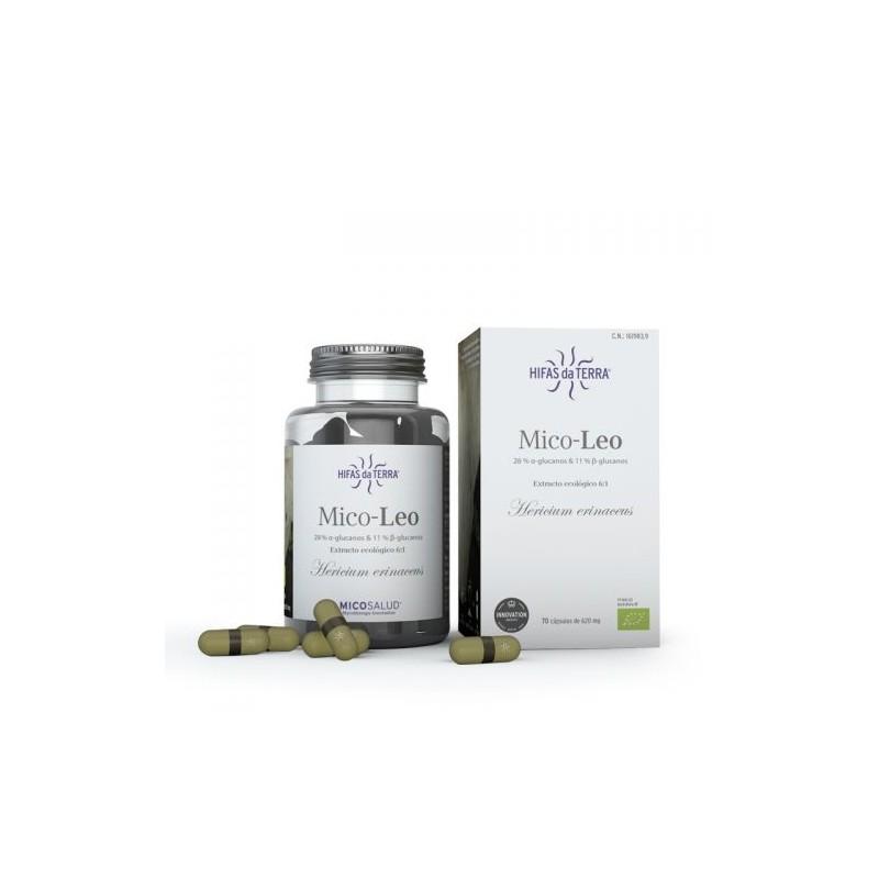 Mico Leo Micosalud - 70 capsules - PHARMACIE VERTE - Herboristerie à Nantes depuis 1942 - Plantes en Vrac - Tisane - EPS - Bourg