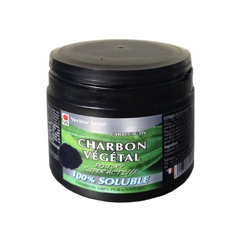 Charbon Végétal 100% BIO - 120 gélules - PHARMACIE VERTE - Herboristerie à Nantes depuis 1942 - Plantes en Vrac - Tisane - EPS -