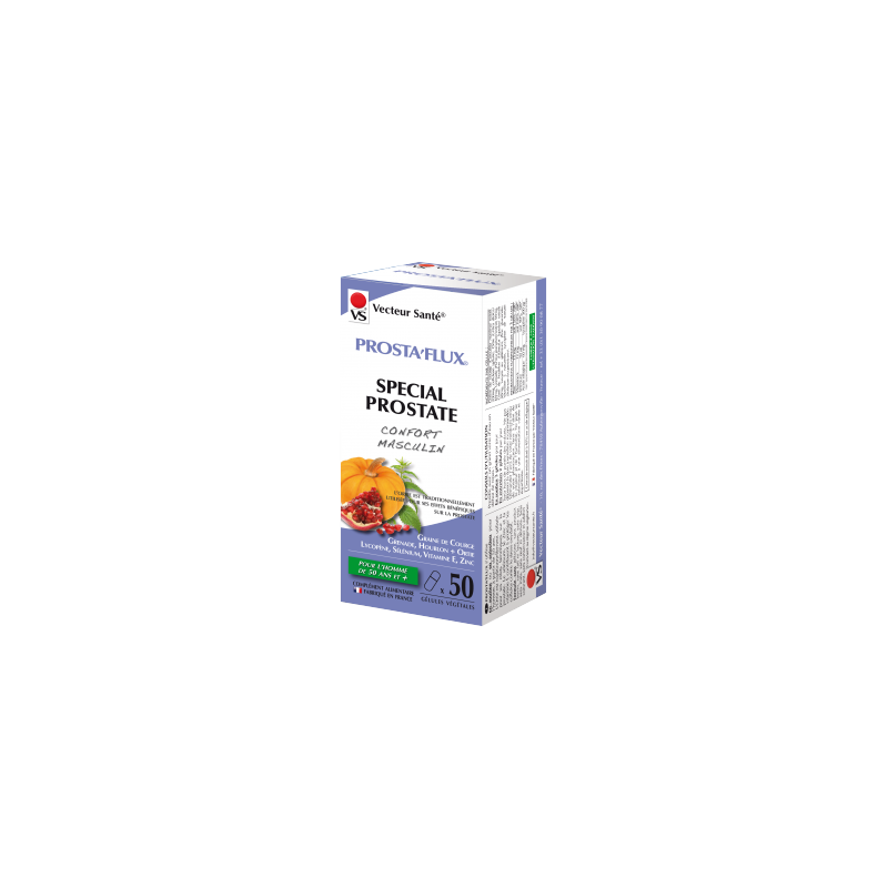 VS - PROSTA'FLUX - 50 Gélules - PHARMACIE VERTE - Herboristerie à Nantes depuis 1942 - Plantes en Vrac - Tisane - EPS - Bourgeon