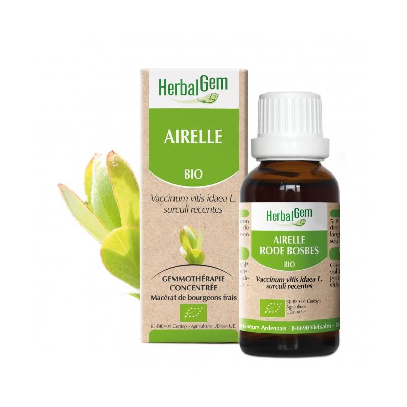 HERBALGEM AIRELLE - 30ml - PHARMACIE VERTE - Herboristerie à Nantes depuis 1942 - Plantes en Vrac - Tisane - EPS - Homéopathie -