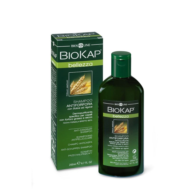 BIOKAP - Shampooing Antipelliculaire - 200ml - PHARMACIE VERTE - Herboristerie à Nantes depuis 1942 - Plantes en Vrac - Tisane -
