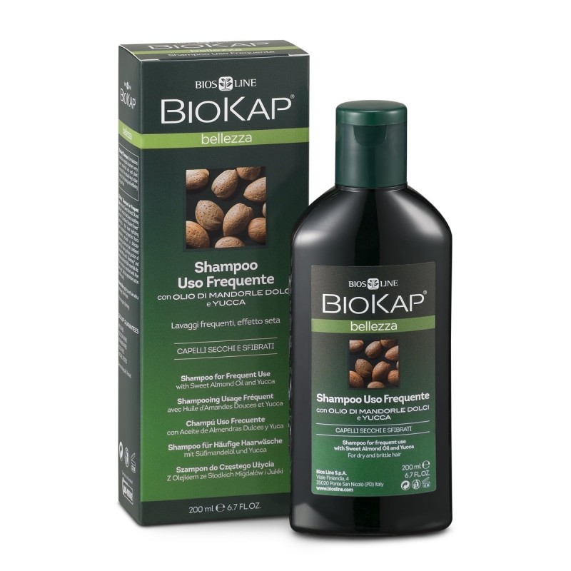 BIOKAP - Shampooing Usage Fréquent - 200ml - PHARMACIE VERTE - Herboristerie à Nantes depuis 1942 - Plantes en Vrac - Tisane - E