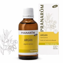 Argan - HV Bio - 50ml - PHARMACIE VERTE - Herboristerie à Nantes depuis 1942 - Plantes en Vrac - Tisane - EPS - Bourgeon - Mycot
