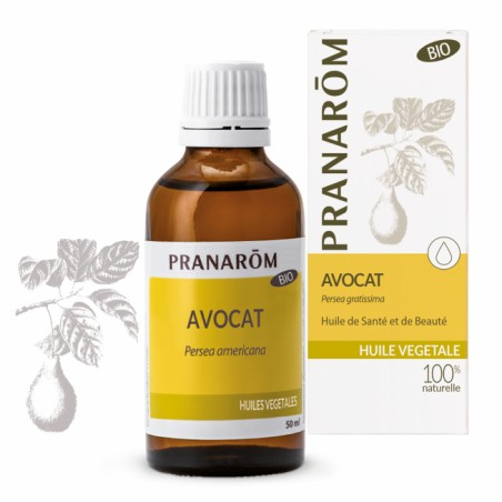 Avocat - HV Bio - 50ml - PHARMACIE VERTE - Herboristerie à Nantes depuis 1942 - Plantes en Vrac - Tisane - EPS - Bourgeon - Myco