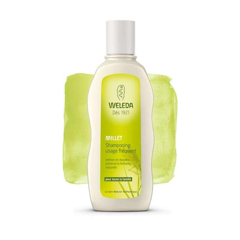 Shampooing Usage Fréquent au Millet - 190ml - PHARMACIE VERTE - Herboristerie à Nantes depuis 1942 - Plantes en Vrac - Tisane -