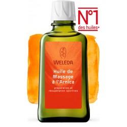 Huile de Massage à l'Arnica - 100ml - PHARMACIE VERTE - Herboristerie à Nantes depuis 1942 - Plantes en Vrac - Tisane - EPS - Bo
