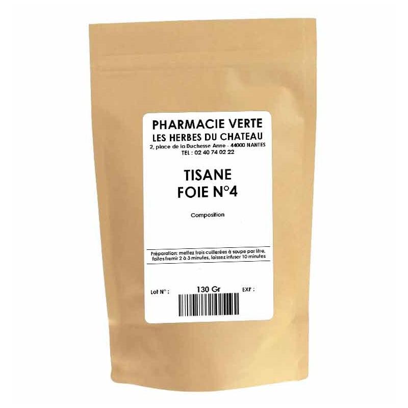 FOIE N° 4 - 150GR - PHARMACIE VERTE - Herboristerie à Nantes depuis 1942 - Plantes en Vrac - Tisane - EPS - Bourgeon - Mycothéra