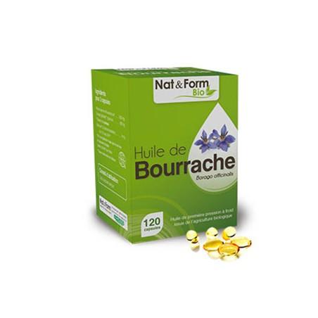 Bourrache Bio - 120 Capsules - PHARMACIE VERTE - Herboristerie à Nantes depuis 1942 - Plantes en Vrac - Tisane - EPS - Bourgeon