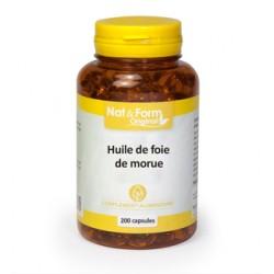 Huile de Foie de Morue - 140 Capsules - PHARMACIE VERTE - Herboristerie à Nantes depuis 1942 - Plantes en Vrac - Tisane - EPS -