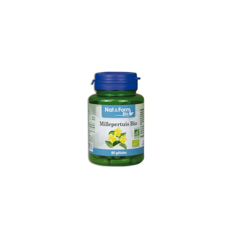 Millepertuis Bio - 200 Gélules - PHARMACIE VERTE - Herboristerie à Nantes depuis 1942 - Plantes en Vrac - Tisane - EPS - Homéopa