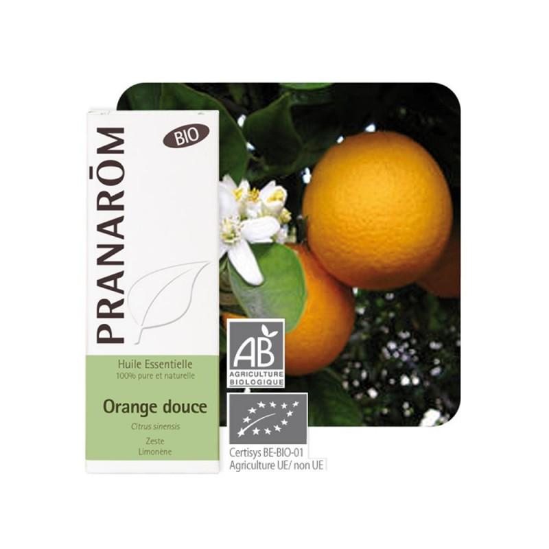Orange Douce Zeste Bio HE - 10ml - PHARMACIE VERTE - Herboristerie à Nantes depuis 1942 - Plantes en Vrac - Tisane - EPS - Bourg