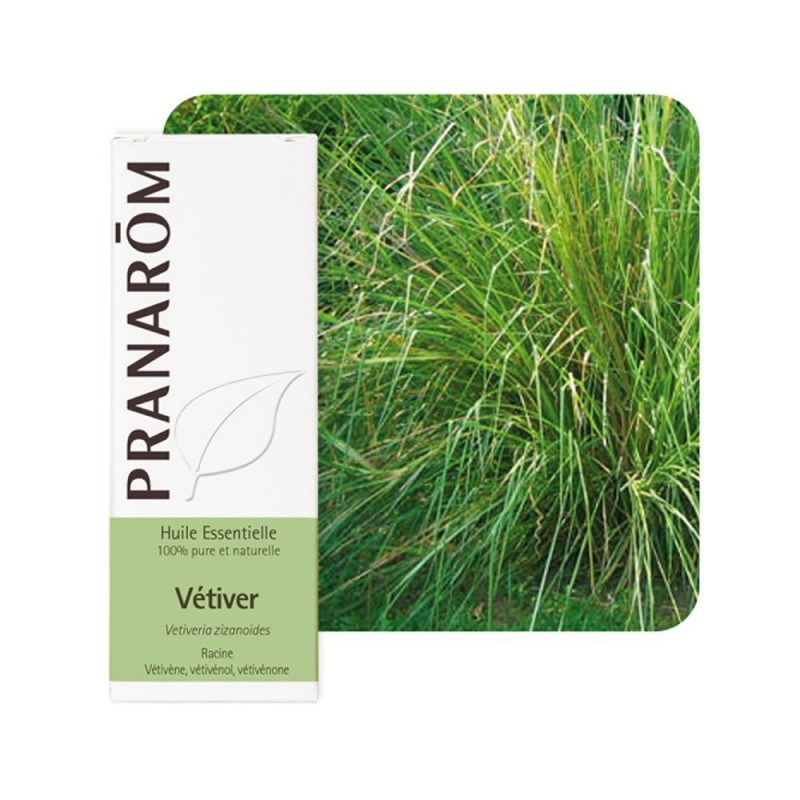 Vetiver HE - 5ml - PHARMACIE VERTE - Herboristerie à Nantes depuis 1942 - Plantes en Vrac - Tisane - EPS - Homéopathie - Gemmoth
