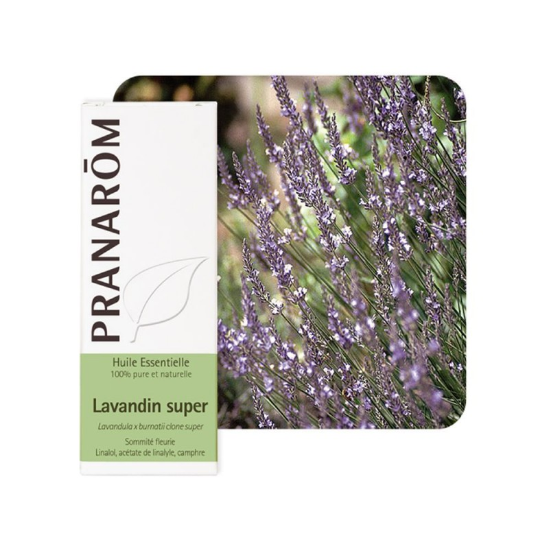 Lavandin Super HE - 10ml - PHARMACIE VERTE - Herboristerie à Nantes depuis 1942 - Plantes en Vrac - Tisane - EPS - Homéopathie -
