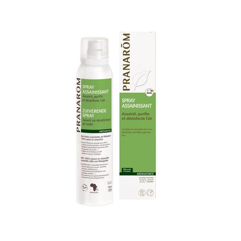 Spray Assainissant - 150ml - PHARMACIE VERTE - Herboristerie à Nantes depuis 1942 - Plantes en Vrac - Tisane - EPS - Homéopathie