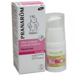 Spray Massage Confort Digéstif  Bébé - 10ml - PHARMACIE VERTE - Herboristerie à Nantes depuis 1942 - Plantes en Vrac - Tisane -
