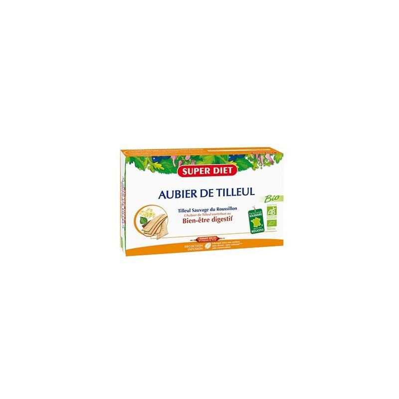 AUBIER DE TILLEUL BIO - 20 ampoules 15ml - PHARMACIE VERTE - Herboristerie à Nantes depuis 1942 - Plantes en Vrac - Tisane - EPS