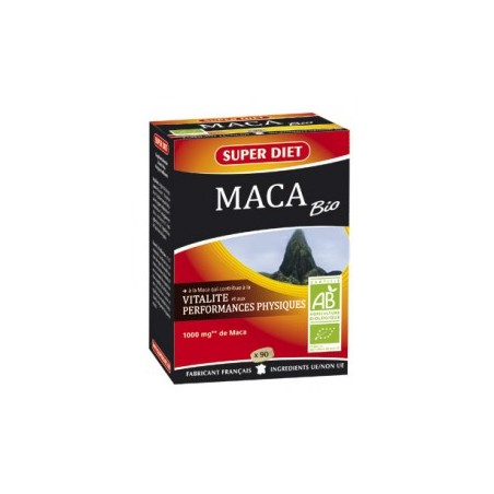 MACA Bio - 90 comprimés - PHARMACIE VERTE - Herboristerie à Nantes depuis 1942 - Plantes en Vrac - Tisane - EPS - Homéopathie -