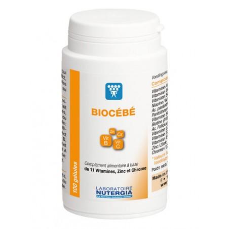 BIOCEBE - 100 gélules - PHARMACIE VERTE - Herboristerie à Nantes depuis 1942 - Plantes en Vrac - Tisane - EPS - Homéopathie - Ge
